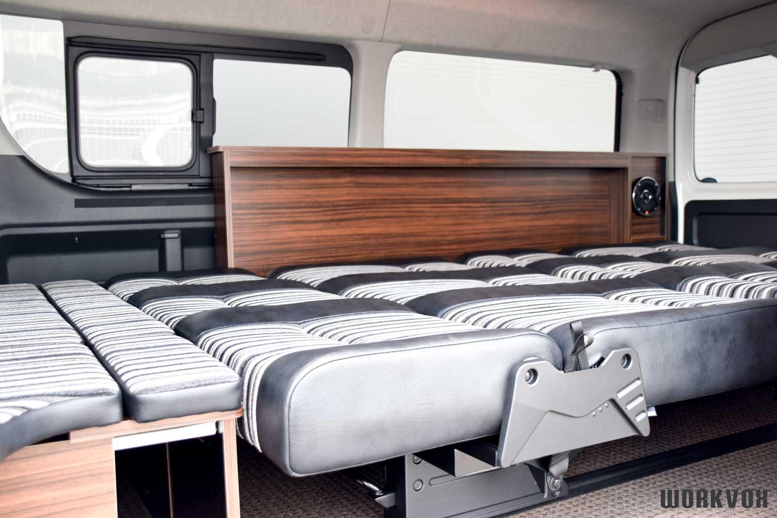 ハイエース i-seat フルフラット