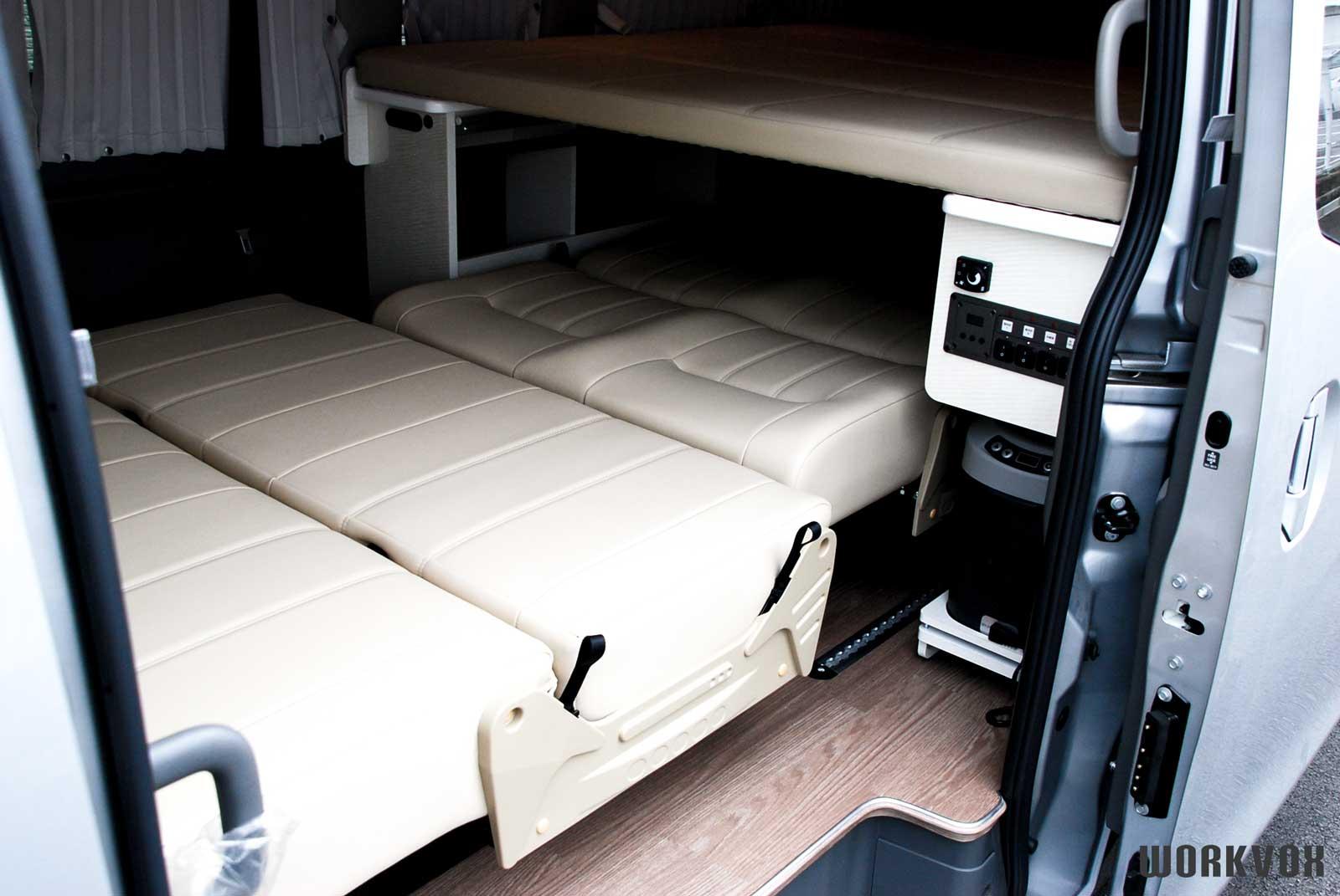 キャラバン 車椅子車両 二段ベッド