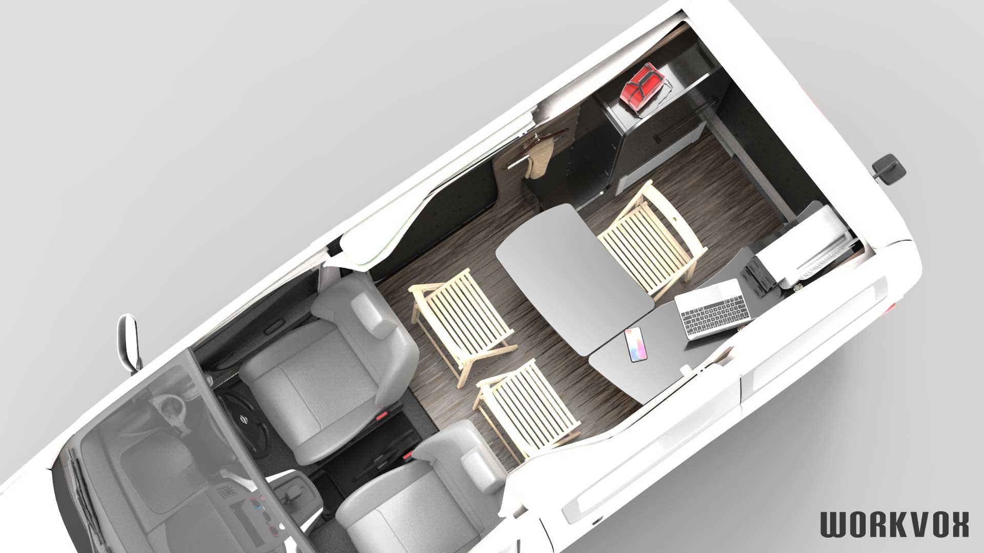 日産 NV200 モバイルオフィス