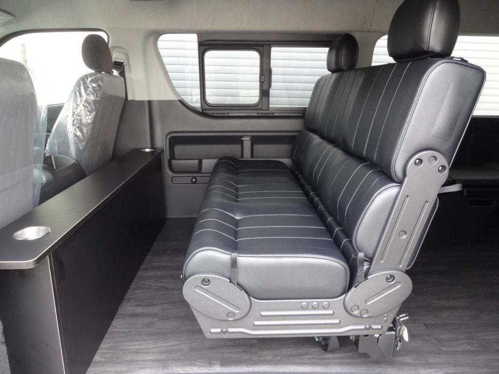ハイエース シートカスタム i-seat