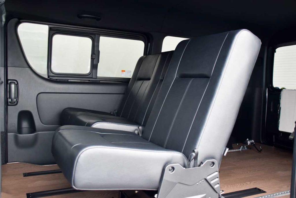ハイエース シートカスタマイズ i-seat